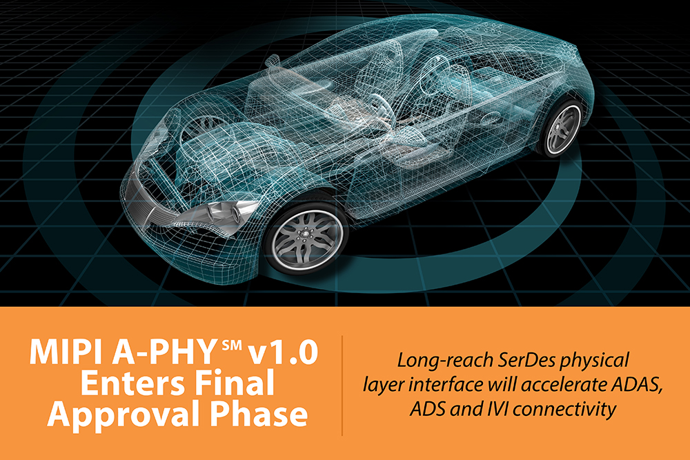 MIPI A-PHY enters final approval phase