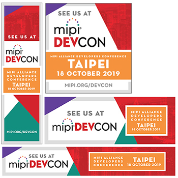 MIPI DevCon Taipei See Us At graphics