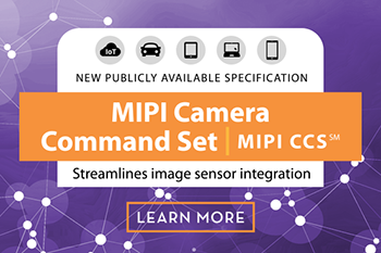 MIPI Alliance Releases MIPI CCS, a New Specification that