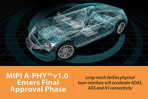 MIPI A-PHY enters adoption phase