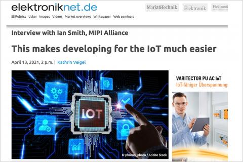 MIPI in IoT - Elektronik April 2021