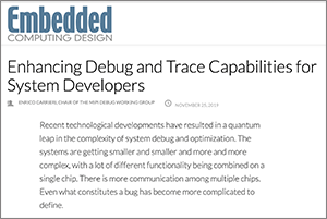 Embedded Computing Design article