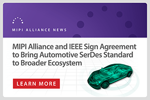 MIPI and IEEE sign agreement