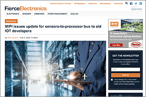 MIPI in the News - Fierce Electronics